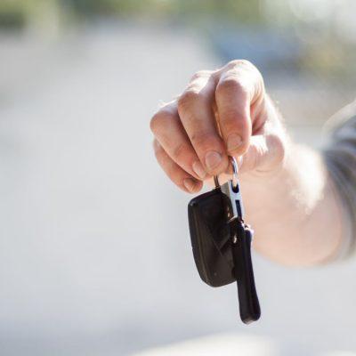 photo of car keys